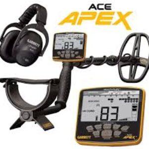 Detector de metales Garrett ACE Apex (paquete inalámbrico)